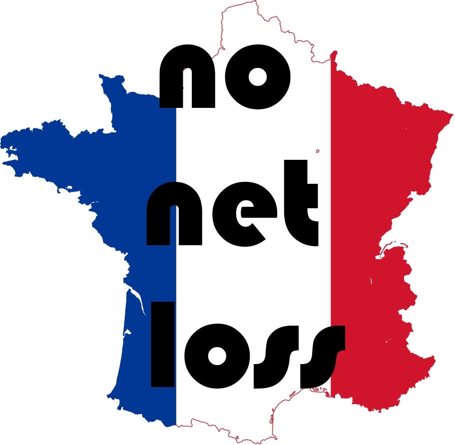 no net loss French resolution