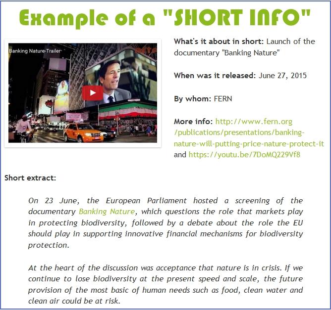 short info